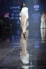 Model at lakme fashion week Day 1 on 21st Aug 2019