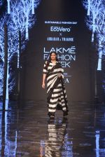 Athiya Shetty walk the ramp for designer Abraham & Thakore at Lakme Fashion Week 2019 on 22nd Aug 2019 (3)_5d5f8d698b074.JPG