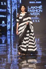Athiya Shetty walk the ramp for designer Abraham & Thakore at Lakme Fashion Week 2019 on 22nd Aug 2019 (6)_5d5f8d70150a7.JPG