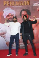 Sunil Shetty, Sudeep at the press conference of film Pehlwaan at Sun n Sand in juhu on 22nd Aug 2019