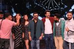 Sunny Deol, Karan Deol, Saher Bamba, Kareena Kapoor on the sets of Dance India Dance at filmcity in goregoan on 22nd Aug 2019