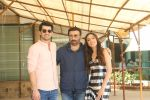 Karan Deol,  Sunny Deol, Saher Bamba at the promotion of film Pal Pal Dil Ke Pass in Sun n Sand on 23rd Aug 2019 (34)_5d60f9143c807.JPG