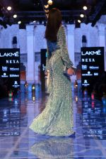 Model walk the ramp for Nachiket Barve on Lakme Fashion Week Day 3 on 23rd Aug 2019