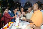 Shilpa Shetty with family at the janmashtami celebration at Iskon temple juhu on 23rd Aug 2019 (86)_5d62538f7fe5c.JPG