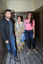 Shilpa Shetty with mother & Raj Kundra spotted PVR juhu on 23rd Aug 2019 (1)_5d624b7c35705.jpg