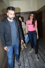 Shilpa Shetty with mother & Raj Kundra spotted PVR juhu on 23rd Aug 2019 (10)_5d624bdb715fe.JPG