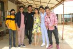 Sushant Singh Rajput, Shraddha Kapoor, Varun Sharma at media interactions of film Chhichhore at Sun n Sand in juhu on 24th Aug 2019 (29)_5d625340c6178.JPG