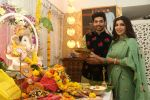 Gurmeet Choudhary, Debina Bonnerjee_s Ganpati celebration at his house on 2nd Sept 2019 (27)_5d6e236cf2268.JPG