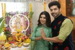 Gurmeet Choudhary, Debina Bonnerjee_s Ganpati celebration at his house on 2nd Sept 2019 (34)_5d6e23783f69a.JPG