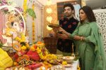 Gurmeet Choudhary, Debina Bonnerjee_s Ganpati celebration at his house on 2nd Sept 2019 (37)_5d6e238023a94.JPG