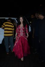 Isabelle Kaif at Arpita Khan_s home for Ganesh Chaturthi on 2nd Sept 2019 (38)_5d6e25c257b4a.JPG