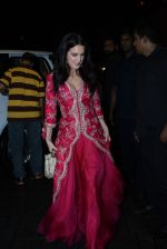 Isabelle Kaif at Arpita Khan_s home for Ganesh Chaturthi on 2nd Sept 2019 (40)_5d6e25c7390bb.JPG