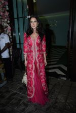 Isabelle Kaif at Arpita Khan_s home for Ganesh Chaturthi on 2nd Sept 2019 (42)_5d6e25cc24633.JPG