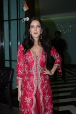 Isabelle Kaif at Arpita Khan_s home for Ganesh Chaturthi on 2nd Sept 2019 (44)_5d6e25d7d1472.JPG