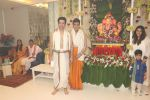 Jeetendra, Tusshar Kapoor, Ekta Kapoor_s Ganpati celebration at his house on 2nd Sept 2019 (28)_5d6e241ee2039.JPG