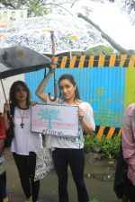 Shraddha Kapoor takes part in protest against the tree cuttings for Metro3 at Aarey in goregaon on 1st Sept 2019 (10)_5d6f6f8a034d3.JPG