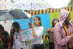 Shraddha Kapoor takes part in protest against the tree cuttings for Metro3 at Aarey in goregaon on 1st Sept 2019 (11)_5d6f6f8de7f7b.JPG