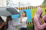 Shraddha Kapoor takes part in protest against the tree cuttings for Metro3 at Aarey in goregaon on 1st Sept 2019 (12)_5d6f6f91bb677.JPG