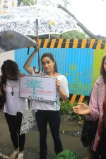 Shraddha Kapoor takes part in protest against the tree cuttings for Metro3 at Aarey in goregaon on 1st Sept 2019 (8)_5d6f6f818792f.JPG
