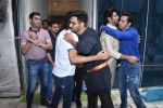 Varun Dhawan, Kartik Aaryan, Bhushan Kumar at Tseries office in andheri for Ganesh darshan on 12th Sept 2019 (50)_5d7b45ac0a583.JPG