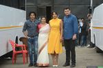 Priyanka Chopra, Farhan Akhtar, Siddharth Roy Kapoor at the promotions of film Sky is Pink in filmcity, goregoan on 24th Sept 2019 (16)_5d8b1ac014f52.JPG