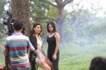 Sunny Leone, Mandana Karimi on location shoot at filmcity on 24th Sept 2019 (22)_5d8b1a15d7f9c.JPG