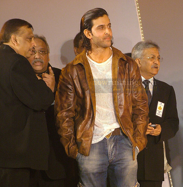 Hrithik Roshan at NM College Fest