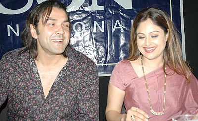 Ayesh Julka with Bobby Deol
