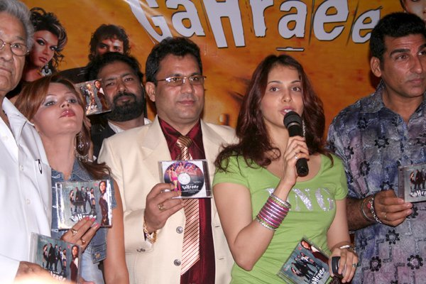 Rakhi Sawant, Isha Koppikar & Mukesh Rishi at Audio Release Of Gahraee
