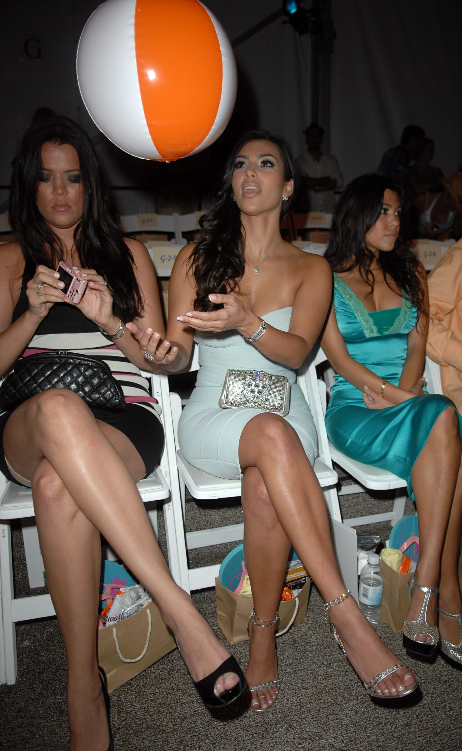 Kim Kardashian at the 2007 MB Fashion week in Miami-12