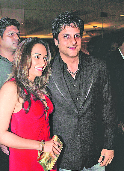 Fardeen Khan and wife Natasha Madhwani Khan