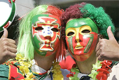 Fans of Portugal