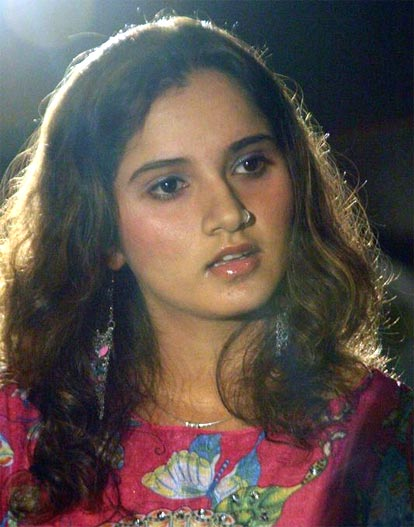 Sania Mirza during a product launch in Hyderabad