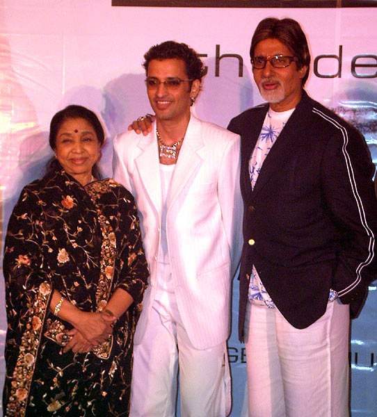 Launch of G album by Amitabh Bachchan and Asha Bhosle