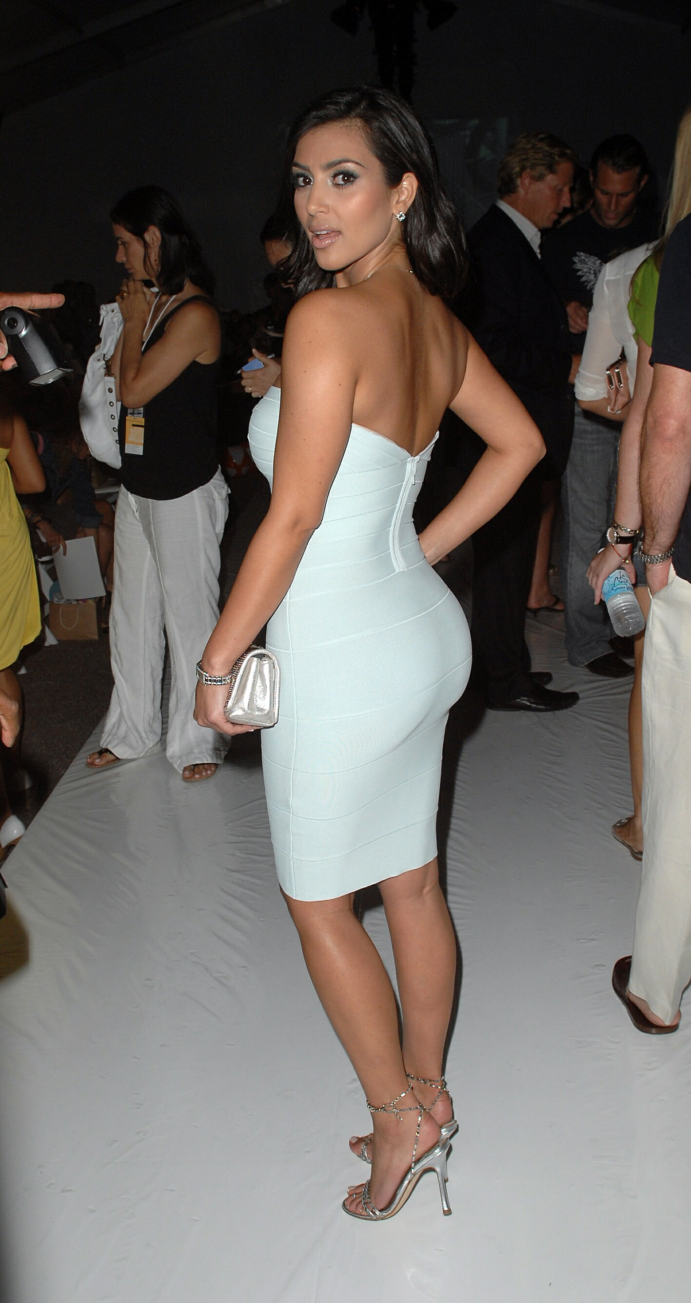 Kim Kardashian at the 2007 MB Fashion week in Miami-2