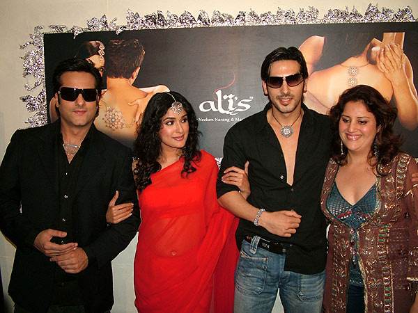 Fardeen Khan and Zayed Khan model at Mariam's Jewellery launch titled Ali's