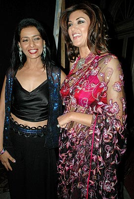 Sushmita Sen at Gazala Fashion Show