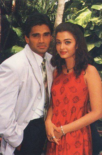 Sunil Shetty and Aishwarya Rai
