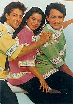Salman - Neelam - Aamir / Salman Khan - Bollywood Photos