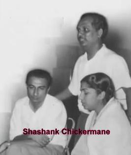 Lata with Sahir & Anil Biswas