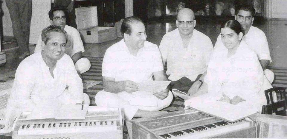 Mohdrafi with P Susheela & others
