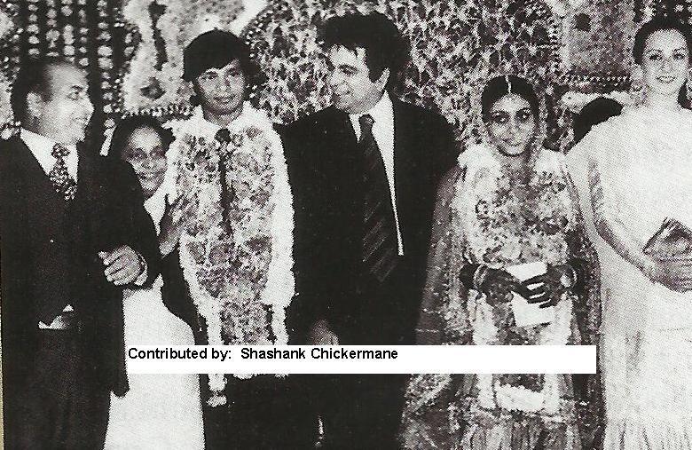 Mohdrafi With Dilipkumar And Saira Bano In His Daughters Wedding