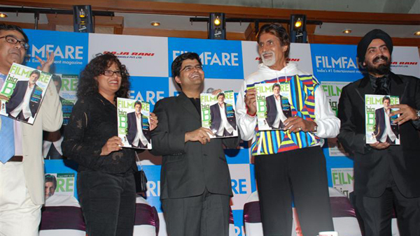 Amitabh Bachchan Launches The New Edition of Filmfare Magazine - 14