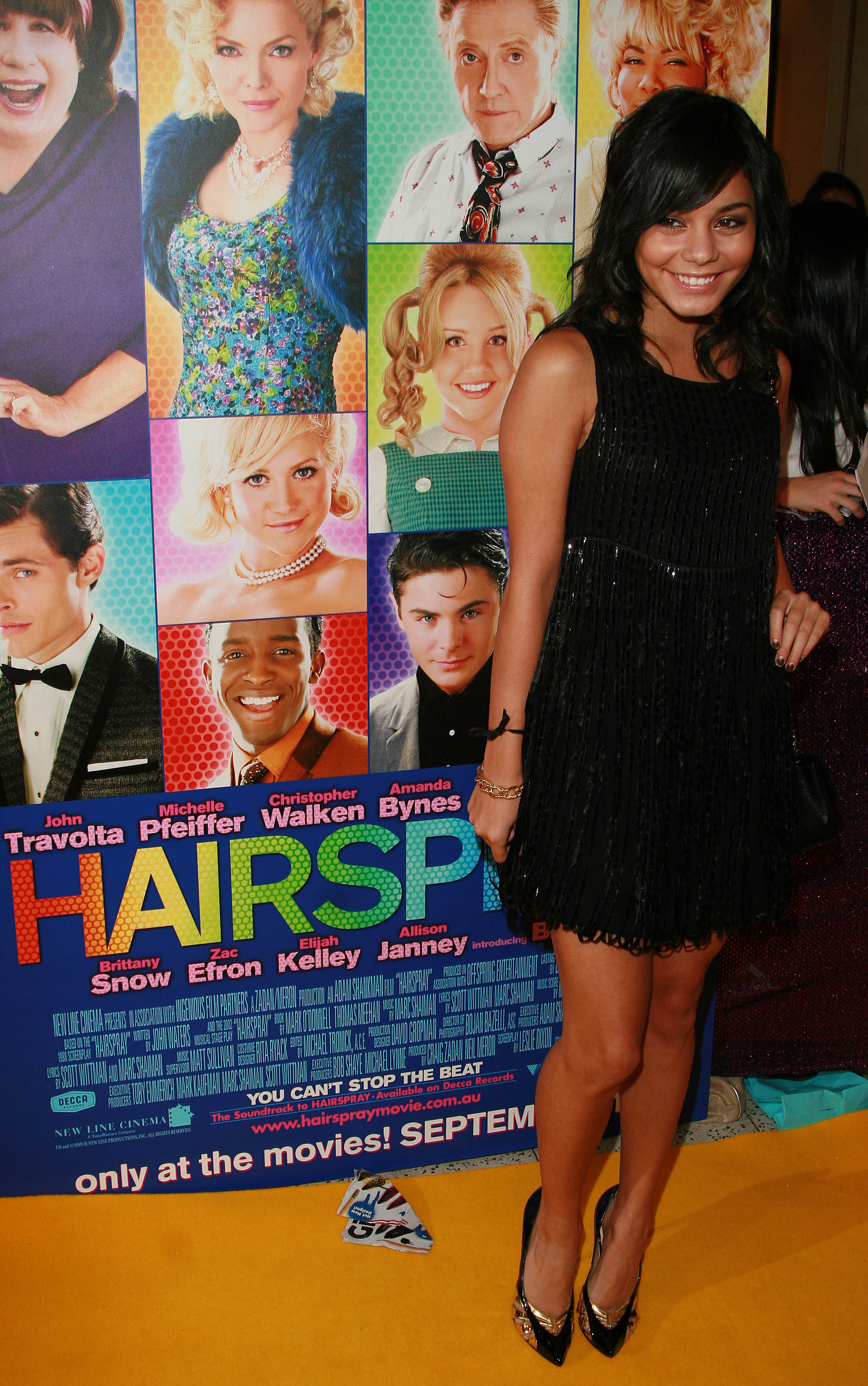 Vanessa Hudgens - The Premiere of Hairspray in Sydney-5