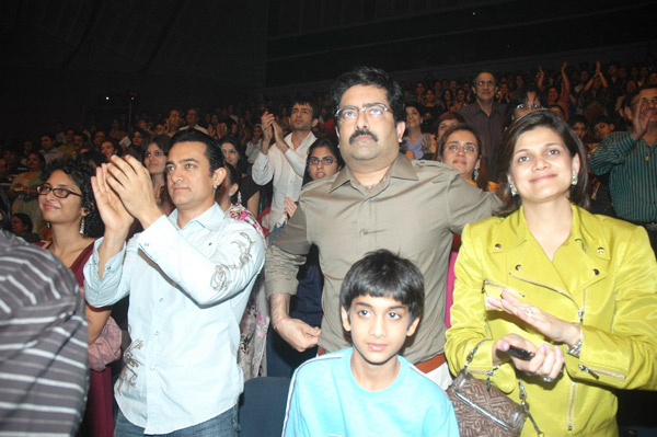 Kiran Rao, Aamir Khan at Shiamak's I Believe