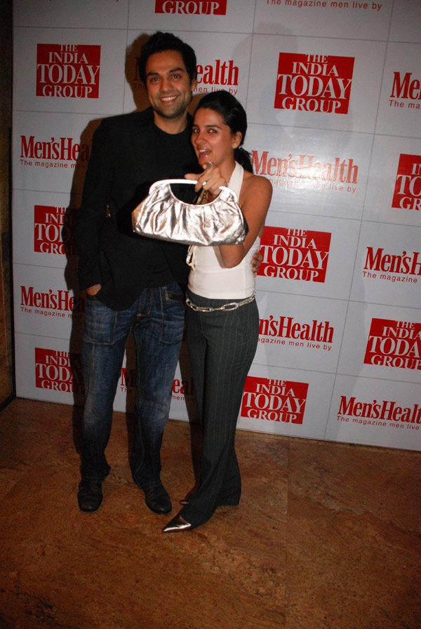 Abhay Deol, Shruti Seth at the 1st Anniversary Bash of Men's Health Magazine