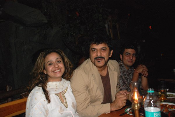 Rajesh Khattar at Rakhi Sawant's belated birthday party at Wild Dining