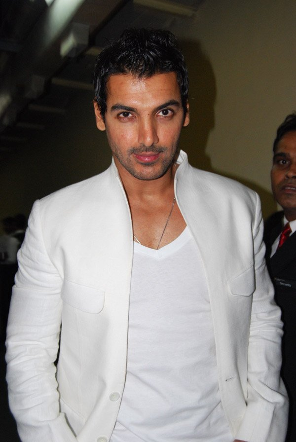 John Abraham at the new filmfare issue launch