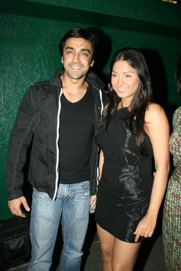 Aashish Chaudhary, Samita Bangargi at the launch of Rocky S_ Club