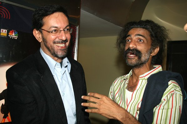 Rajat Kapoor, Makrand Deshpande at the premiere of Khoya Khoya Chand